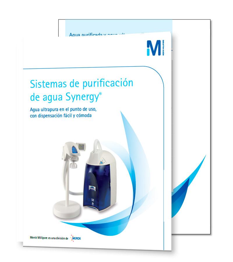 Sistemas de purificación de agua Synergy®
